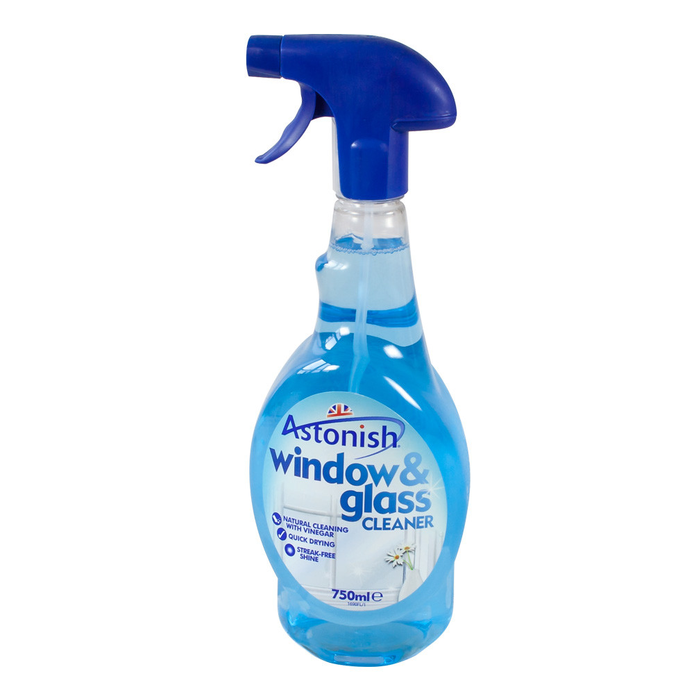 Astonish glass mirror cleaner 750ml for Window cleaner